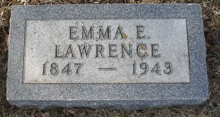 LAWRENCE, EMMA E. - Ida County, Iowa | EMMA E. LAWRENCE