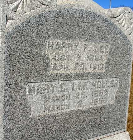 LEE, HARRY F. - Ida County, Iowa | HARRY F. LEE