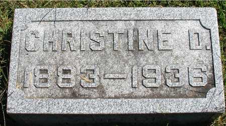 LEONARD, CHRISTINE D. - Ida County, Iowa | CHRISTINE D. LEONARD