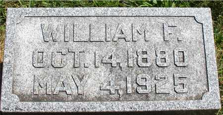 LEONARD, WILLIAM F. - Ida County, Iowa   WILLIAM F. LEONARD