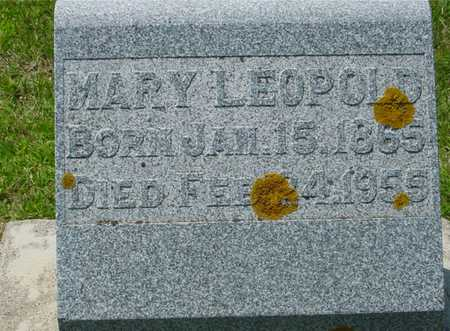 LEOPOLD, MARY - Ida County, Iowa | MARY LEOPOLD