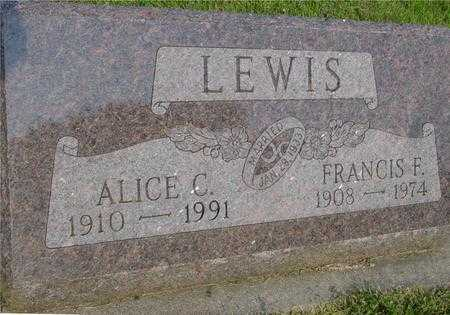 LEWIS, ALICE C. - Ida County, Iowa | ALICE C. LEWIS