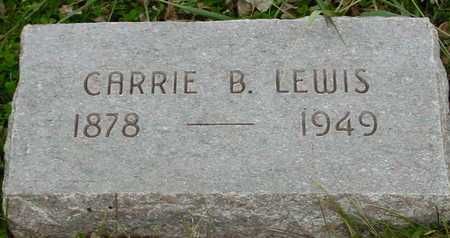 LEWIS, CARRIE B. - Ida County, Iowa | CARRIE B. LEWIS