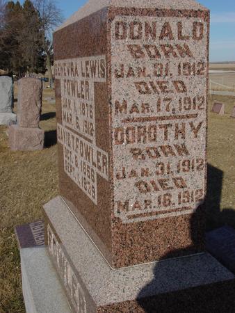 LEWIS, DONALD & DOROTHY - Ida County, Iowa | DONALD & DOROTHY LEWIS