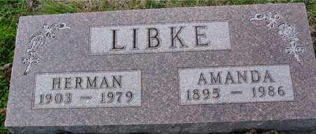LIBKE, HERMAN & AMANDA - Ida County, Iowa | HERMAN & AMANDA LIBKE