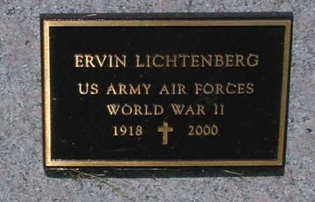 LICHTENBERG, ERVIN - Ida County, Iowa | ERVIN LICHTENBERG