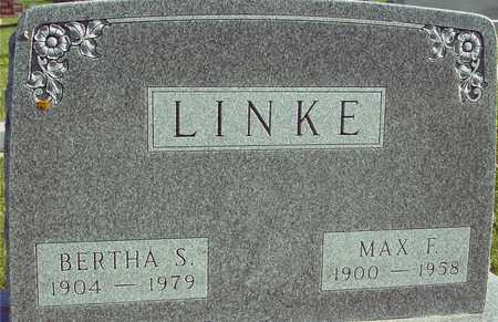 LINKE, MAX & BERTHA - Ida County, Iowa | MAX & BERTHA LINKE