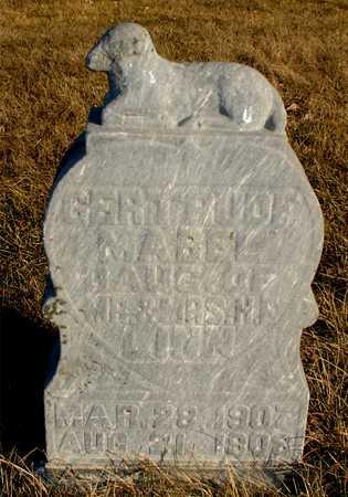 LINN, GERTRUDE MABEL - Ida County, Iowa | GERTRUDE MABEL LINN