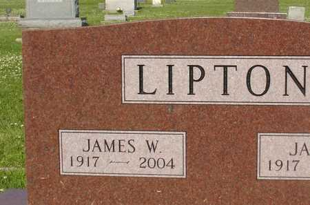 LIPTON, JAMES W. - Ida County, Iowa | JAMES W. LIPTON