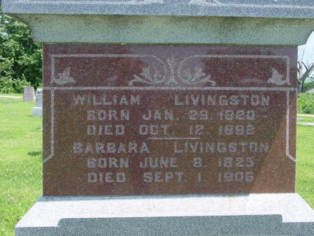 LIVINGSTON, WILLIAM - Ida County, Iowa | WILLIAM LIVINGSTON