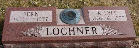 LOCHNER, R. LYLE & FERN - Ida County, Iowa | R. LYLE & FERN LOCHNER