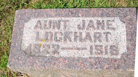 LOCKHART, AUNT JANE - Ida County, Iowa | AUNT JANE LOCKHART