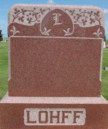 LOHFF, FAMILY MONUMENT - Ida County, Iowa | FAMILY MONUMENT LOHFF