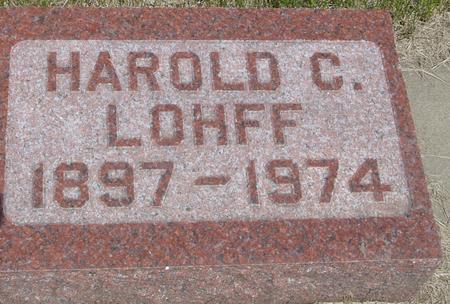 LOHFF, HAROLD C. - Ida County, Iowa | HAROLD C. LOHFF