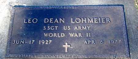 LOHMEIER, LEO DEAN - Ida County, Iowa | LEO DEAN LOHMEIER