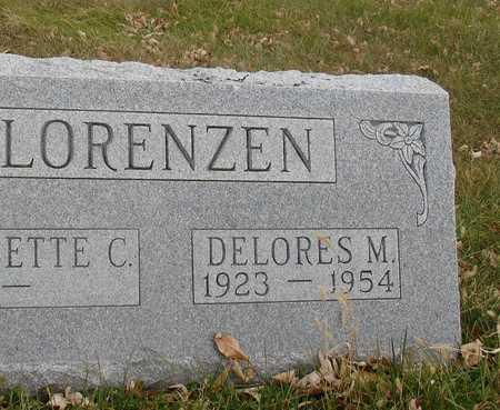LORENZEN, DELORES M. - Ida County, Iowa | DELORES M. LORENZEN