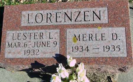 LORENZEN, LESTER & MERLE - Ida County, Iowa | LESTER & MERLE LORENZEN