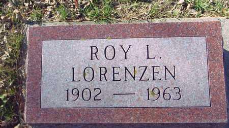 LORENZEN, ROY L. - Ida County, Iowa | ROY L. LORENZEN
