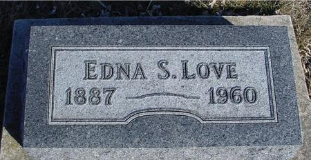 LOVE, EDNA S. - Ida County, Iowa | EDNA S. LOVE