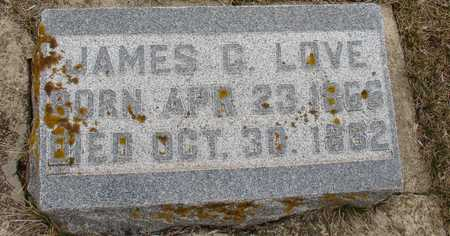 LOVE, JAMES C. - Ida County, Iowa | JAMES C. LOVE