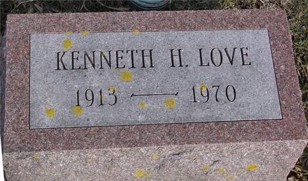 LOVE, KENNETH H. - Ida County, Iowa | KENNETH H. LOVE