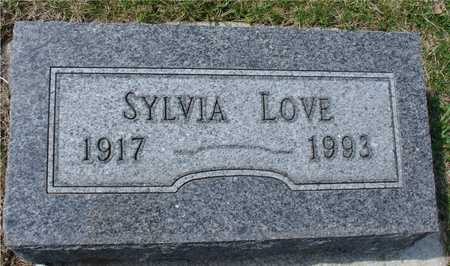 LOVE, SYLVIA - Ida County, Iowa | SYLVIA LOVE