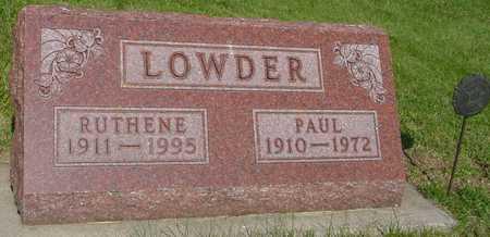 LOWDER, PAUL J. - Ida County, Iowa | PAUL J. LOWDER