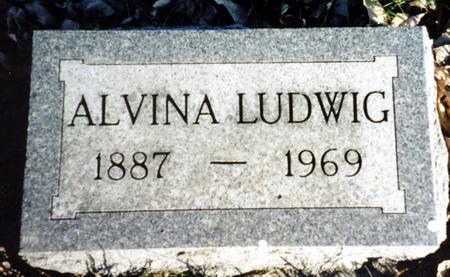 LUDWIG, ALVINA - Ida County, Iowa | ALVINA LUDWIG