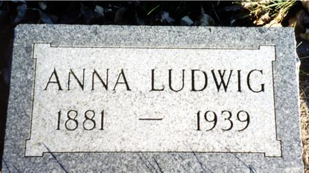 LUDWIG, ANNA - Ida County, Iowa | ANNA LUDWIG