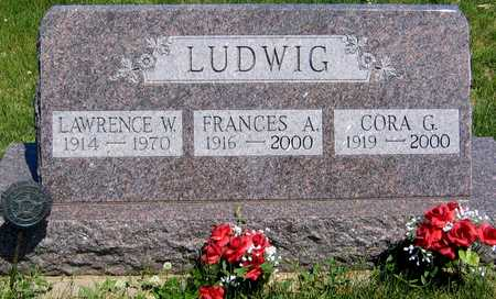 LUDWIG, CORA G. - Ida County, Iowa | CORA G. LUDWIG