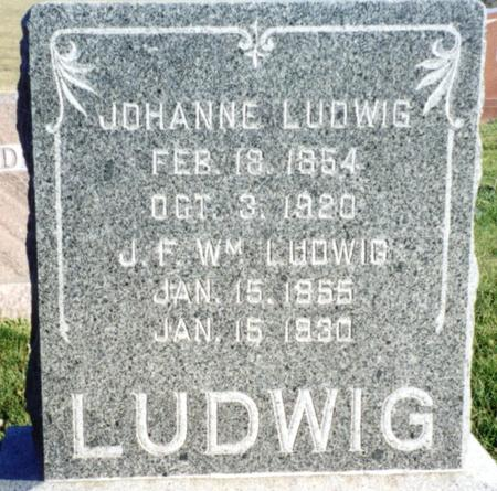 LUDWIG, J. F. WILLIAM - Ida County, Iowa | J. F. WILLIAM LUDWIG