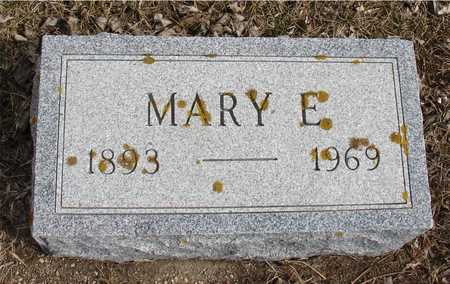 LUND, MARY E. - Ida County, Iowa | MARY E. LUND