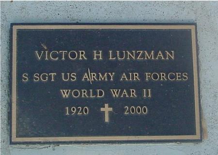 LUNZMAN, VICTOR H. - Ida County, Iowa | VICTOR H. LUNZMAN