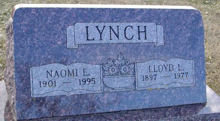LYNCH, LLOYD & NAOMI - Ida County, Iowa | LLOYD & NAOMI LYNCH