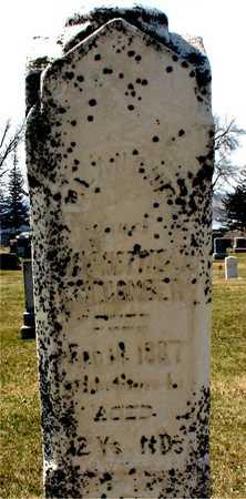 MACOMBER, BLANCHE - Ida County, Iowa | BLANCHE MACOMBER