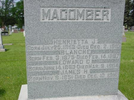 MACOMBER, JAMES - Ida County, Iowa | JAMES MACOMBER