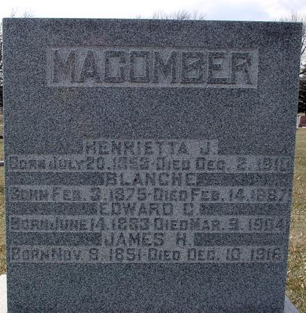 MACOMBER, JAMES & HENRIETTA - Ida County, Iowa | JAMES & HENRIETTA MACOMBER