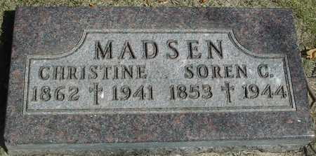 MADSEN, CHRISTINE - Ida County, Iowa | CHRISTINE MADSEN