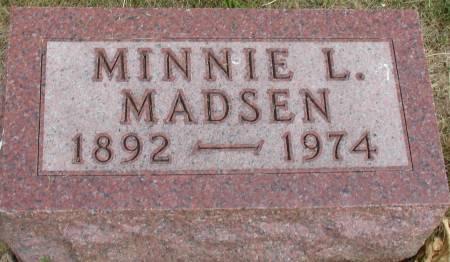 MADSEN, MINNIE L. - Ida County, Iowa | MINNIE L. MADSEN