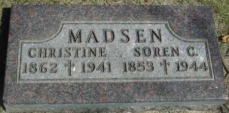 MADSEN, SOREN & CHRISTINE - Ida County, Iowa | SOREN & CHRISTINE MADSEN