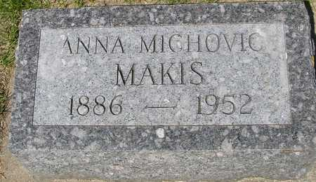 MICHOVIC MAKIS, ANNA - Ida County, Iowa | ANNA MICHOVIC MAKIS
