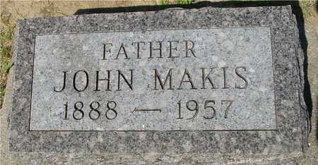 MAKIS, JOHN - Ida County, Iowa | JOHN MAKIS