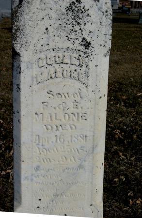 MALONE, DUDLEY - Ida County, Iowa | DUDLEY MALONE