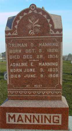 MANNING, TRUMAN & ADELINE - Ida County, Iowa | TRUMAN & ADELINE MANNING