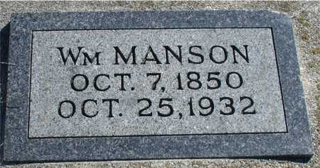 MANSON, WILLIAM - Ida County, Iowa | WILLIAM MANSON