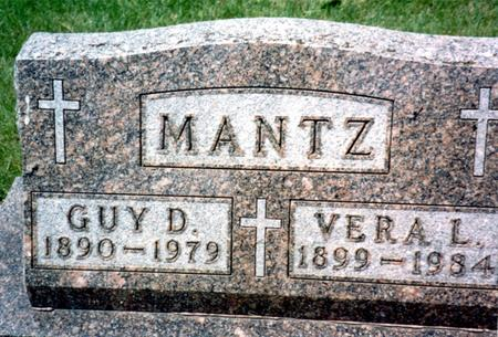MANTZ, GUY D. - Ida County, Iowa | GUY D. MANTZ