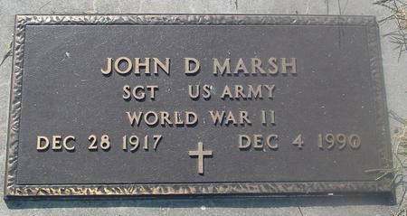 MARSH, JOHN D. - Ida County, Iowa | JOHN D. MARSH