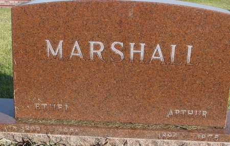 MARSHALL, ARTHUR & ETHEL - Ida County, Iowa | ARTHUR & ETHEL MARSHALL