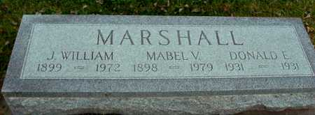 MARSHALL, J. WM. & MABEL - Ida County, Iowa | J. WM. & MABEL MARSHALL