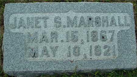 MARSHALL, JANET S. - Ida County, Iowa | JANET S. MARSHALL